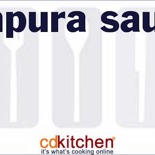 Tempura Sauce.