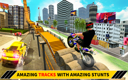 Bike Stunt Racing 3D - Moto Bike Race Game screenshot 11