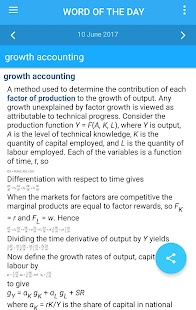 Oxford Dictionary of Economics Screenshot