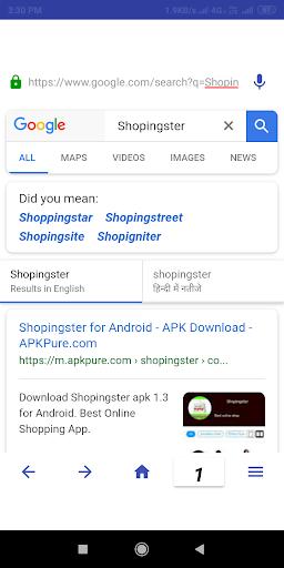 Srj Browser screenshot 3
