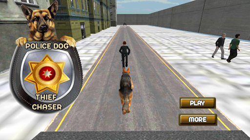 Police Dog : Thief Chaser