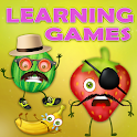 Kids Food Learning Game: Preschool Education icon