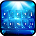 Blue Light Animated Keyboard + Live Wallpaper icon