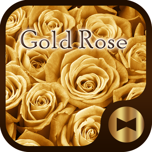 Luxury Wallpaper Gold Rose Theme Icon