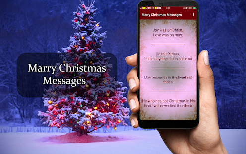Marry Christmas Messages - náhled