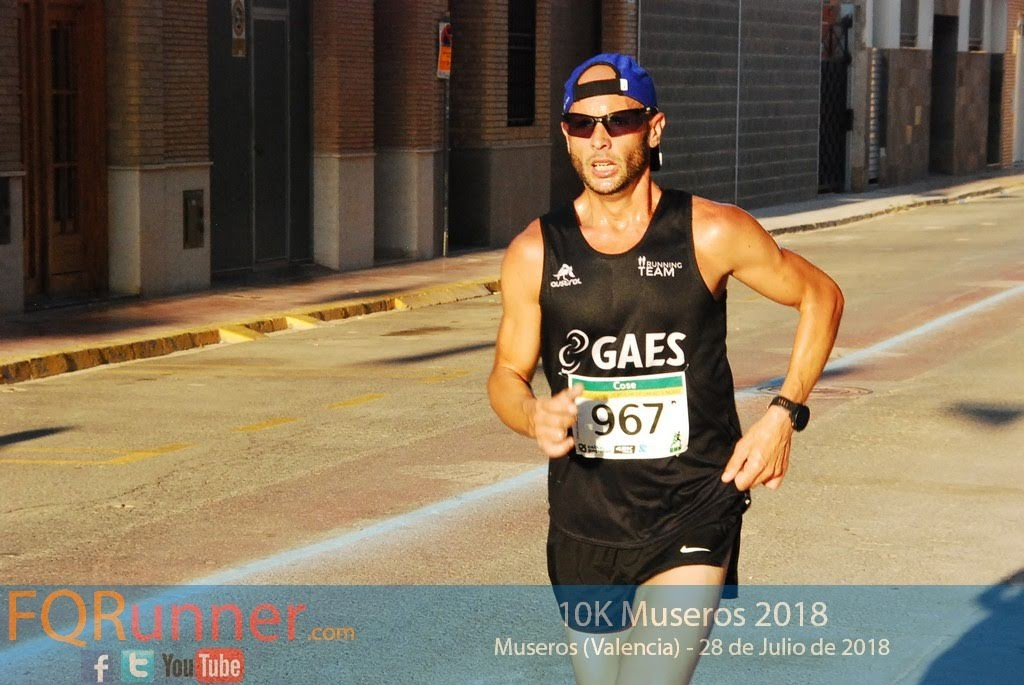 David Aparicio Fuentes del Gaes Running Team