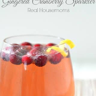 Gingered Cranberry Sparkler.