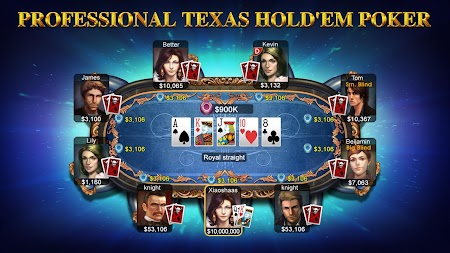 DH Texas Poker - Texas Hold'em APK screenshot thumbnail 1