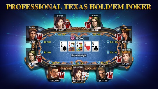 DH Texas Poker – Texas Hold'em App Latest Version Download For Android and iPhone 1