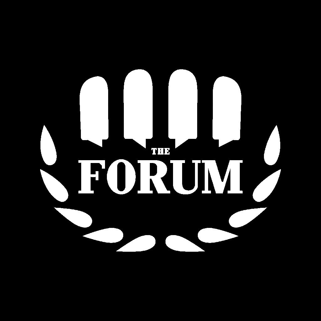 The Forum Inc. -white logo