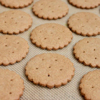 Whole Wheat and Oat Flour Graham Crackers.