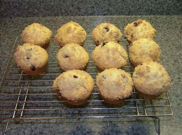 Blueberry Streusel Muffins Recipe