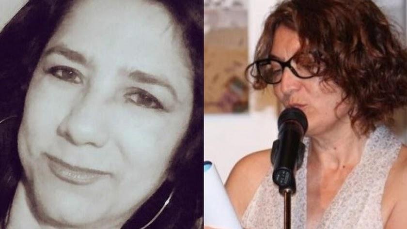 Elvira Núñez y Dori Hernández Montalbán.