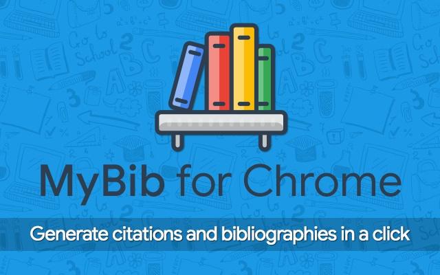 MyBib: Free Citation Generator