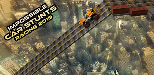 Enjoy Impossible Car Stunt Racing 2019 Game with best car controls