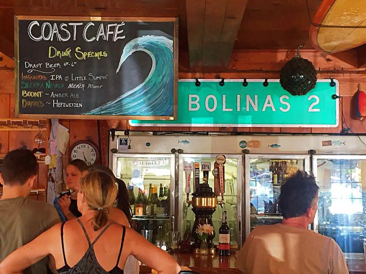 Coast Cafe Bar.
