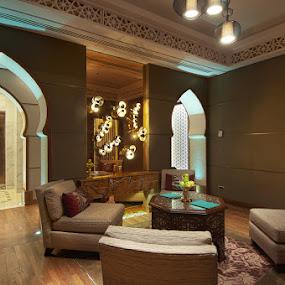 The SPA by Jon Soriano - Buildings & Architecture Other Interior ( jon soriano, interior, d90, raffles hotel, jonr studio, makkah, saudi arabia, spa )