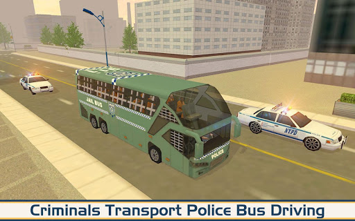 Angry Criminals Transport: Police Bus Sim 1.3 screenshots 11
