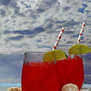 Sea Breeze Mocktail.