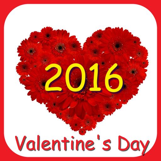 娱乐のハッピーバレンタインデー 2016 LOGO-記事Game