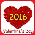 Happy Valentine's Day 2016 icon