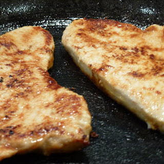 Lime and Ginger Turkey Steaks.