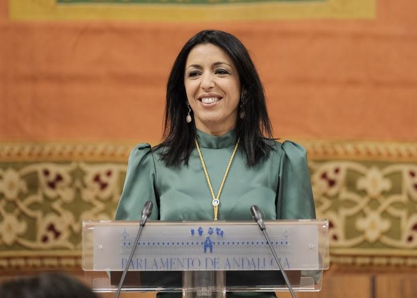 La presidente del Parlamento, Marta Bosquet.