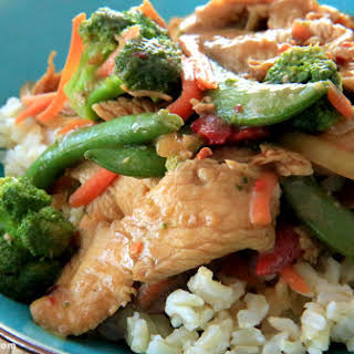 Chicken Teriyaki Stir-Fry.