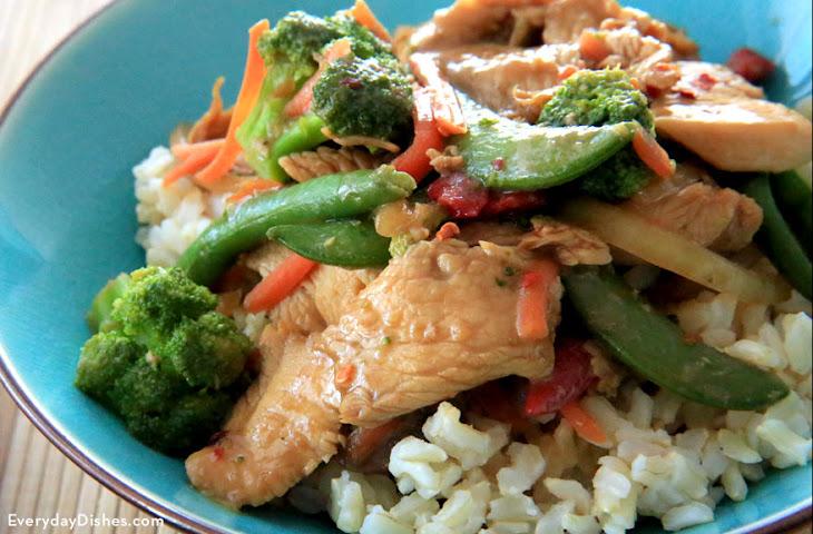 Chicken Teriyaki Stir-Fry Recipe
