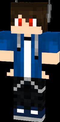 Minecraft Wolf Skins Boy