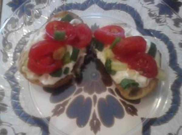Creamy Bruschetta Rounds Recipe