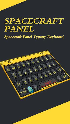 Spacecraft Panel Typany Theme  screenshots 2