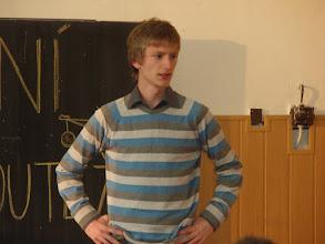 Photo: Školní kolo recitační soutěže - Adam z 3. A.