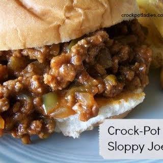 Barbecue Hamburgers Crock Pot Recipes.