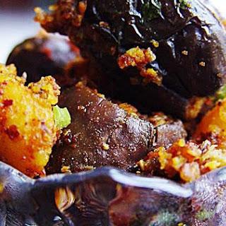 """Stuffed Eggplant - """"Bharwa Baingan"""""""