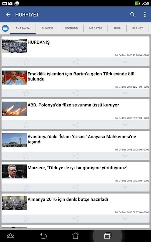 android Türkiye Haber Screenshot 11