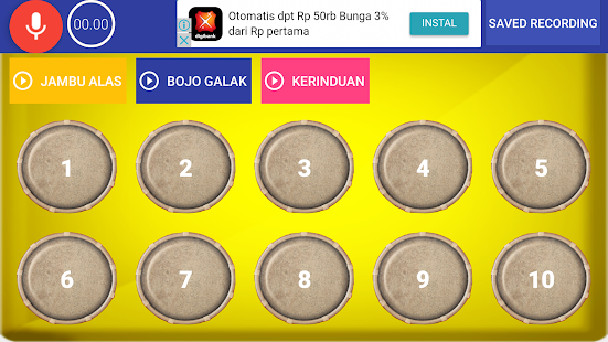 Gendang Dangdut Virtual - náhled