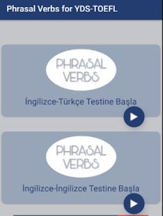 Phrasal Verbs for YDS-TOEFL - náhled