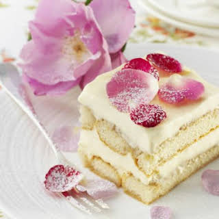 Floral Italian Pudding.