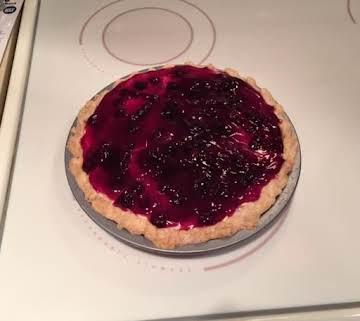 Blueberry Layered Pie