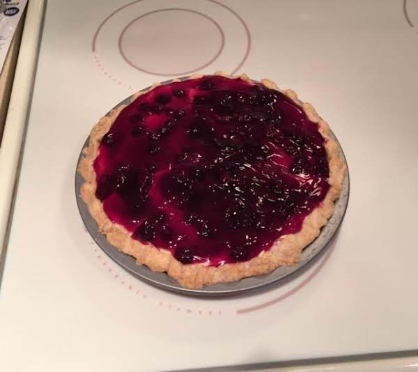 Blueberry Layered Pie
