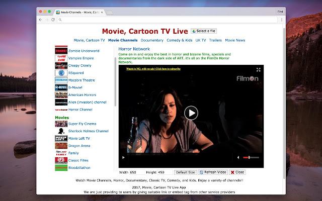 Movie, Cartoon TV Live