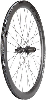 DT Swiss HEC 1400 Spline 47 Rear Wheel - 700, 12 x 142mm, Center-Lock/6-Bolt, HG 11/ XDR, Black alternate image 0
