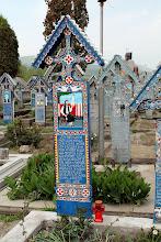 Photo: jedyny tzw. wesoły cmentarz..Sapanta Rumunia
