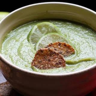 Cumin Lime Pea Soup.