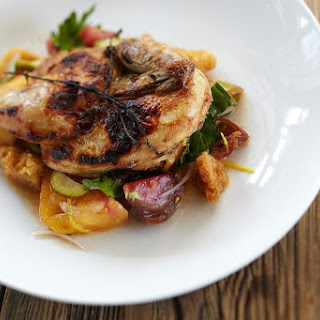Simple Grilled Chicken with Lemon and Rosemary Recipe
