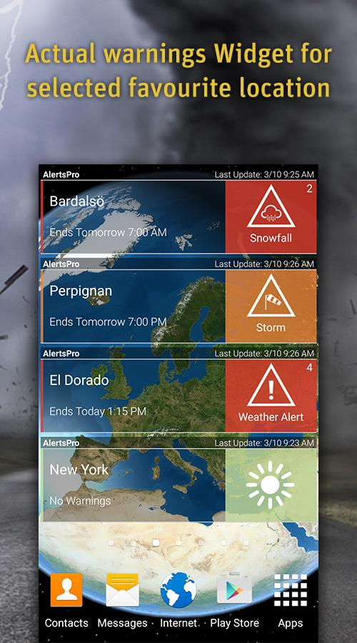 AlertsPro - Severe Weather- screenshot