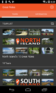Great Rides App- screenshot thumbnail