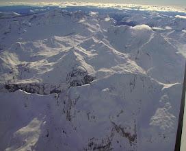 Photo: Hautes Pyrénées: vision aérienne sur les crêtes Nord du Soum Blanc de Secugnat (2577m) proches de Gavarnie.