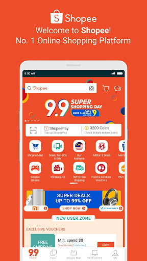 Shopee MY: 9.9 Shopping Day 2.60.07 Screenshots 1